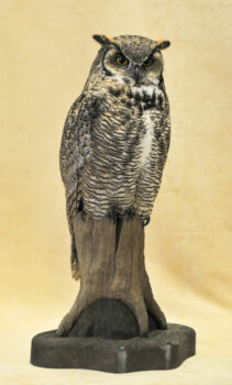 Great Horned Owl by Carl Church 2008