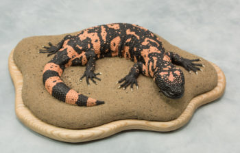 Gila Monster by Emilie Woodford