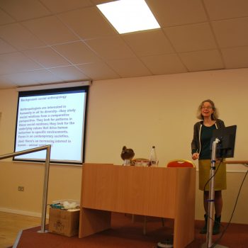 Petra Tjitske Kalshoven An anthropologist's perspective on contemporary taxidermy