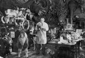 Ted Gerrard and showroom c1950