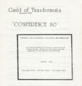 Conference Programme 1980
