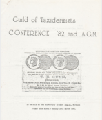 Conference Programme 1982