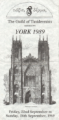 Conference Programme 1989