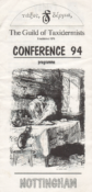 Conference Programme 1994