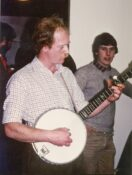 Ian Hutchison with Dave Weatherly 1983