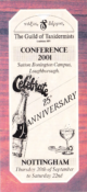 Conference Programme 2001