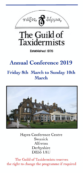 Conference Programme 2019